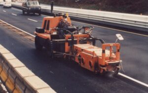 Something rumble strip cutter head very pity